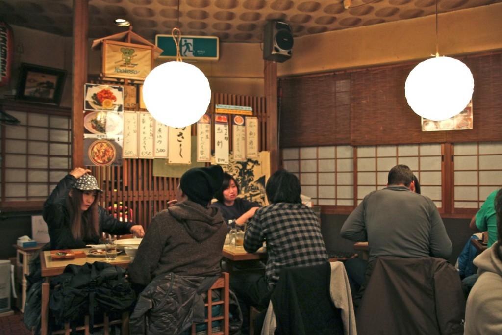 Food at Nozawa Onsen Village